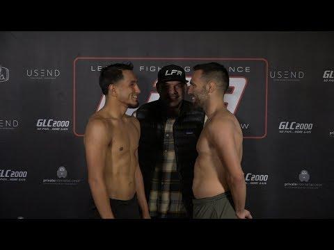 LFA78: Yanez vs. Estrada Weigh-In