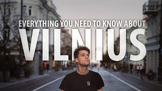 What is VILNIUS? (My City You Know Nothing About)
