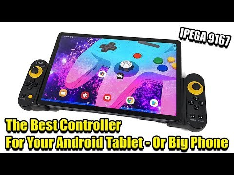 The Best Controller for An Android Tablet iPad  - IPEGA 9167 Review