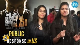 Chiranjeevi Khaidi No 150 Movie Public Response In US || # KhaidiNo150 || VV Vinayak