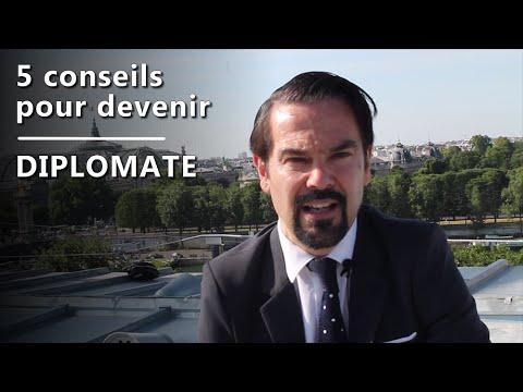 5 conseils pour devenir diplomate