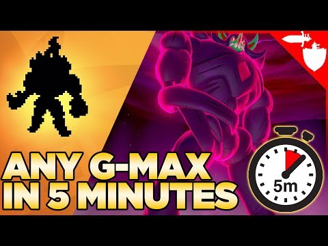 GET ANY Gigantamax Pokemon IN 5 MINUTES! Pokemon Sword And Shield