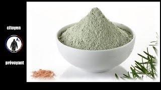 L'argile verte à boire ou en cataplasme possède des propriétés extraordinaire