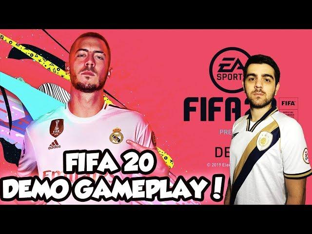 ΕΠΙΤΕΛΟΥΣ ΔΟΚΙΜΑΖΟΥΜΕ ΤΟ FIFA 20 DEMO!! #FIFA 20 DEMO