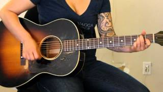 How to play Bring Me Some Water by Melissa Etheridge on guitar - Jen Trani