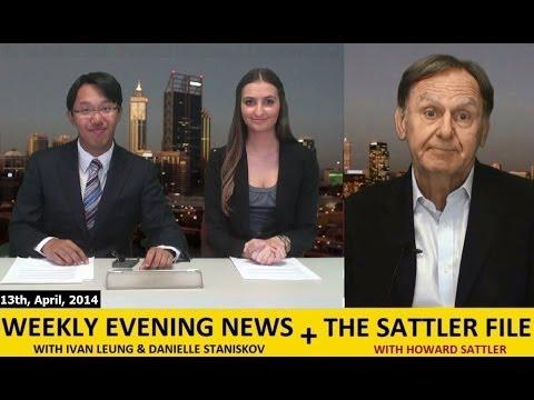 (13th, April) Evening News + Howard Sattler [Rottnest Island + Ukriane Crisis]