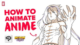 How to Animate iฑ Clip Studio Paint for Beginners