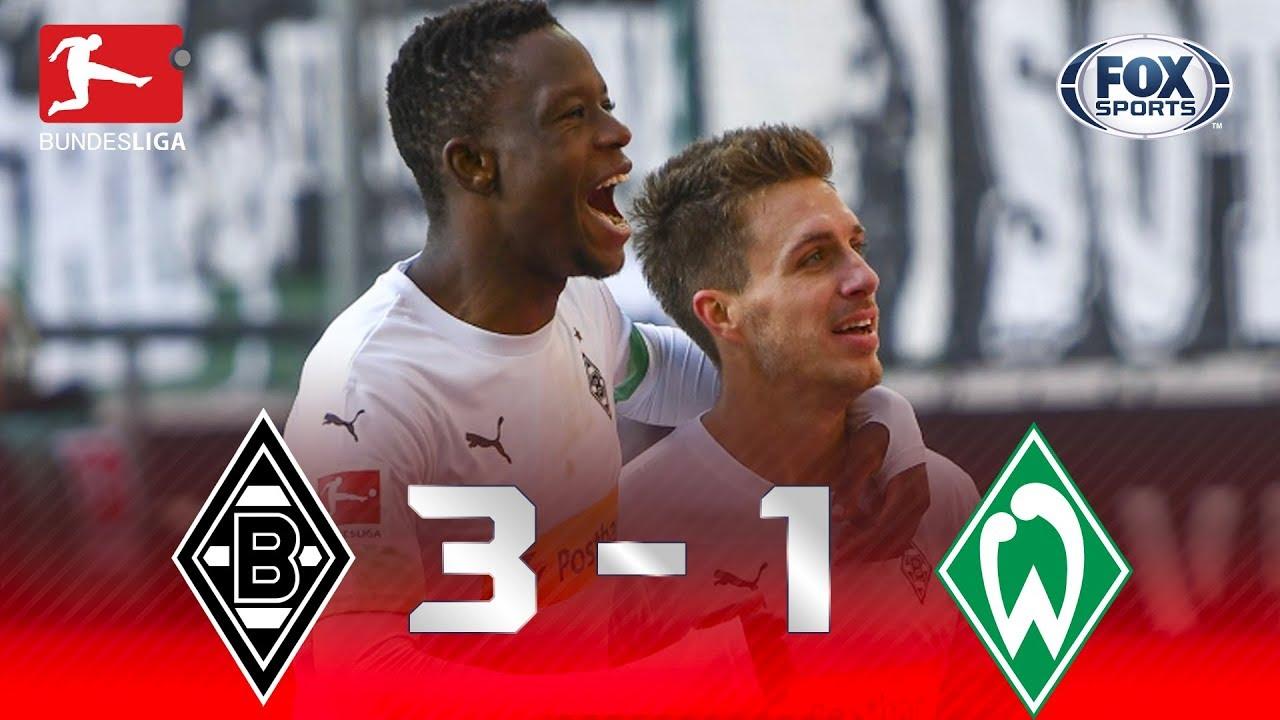 Download Borussia Mönchengladbach - Werder Bremen [3-1]   GOLES   Jornada 11   Bundesliga
