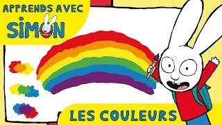 Simon - Les COULEURS avec Simon !! HD [Officiel] Dessin animé pour enfants