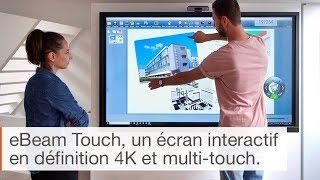Comment fonctionne l'écran interactif eBeam ?