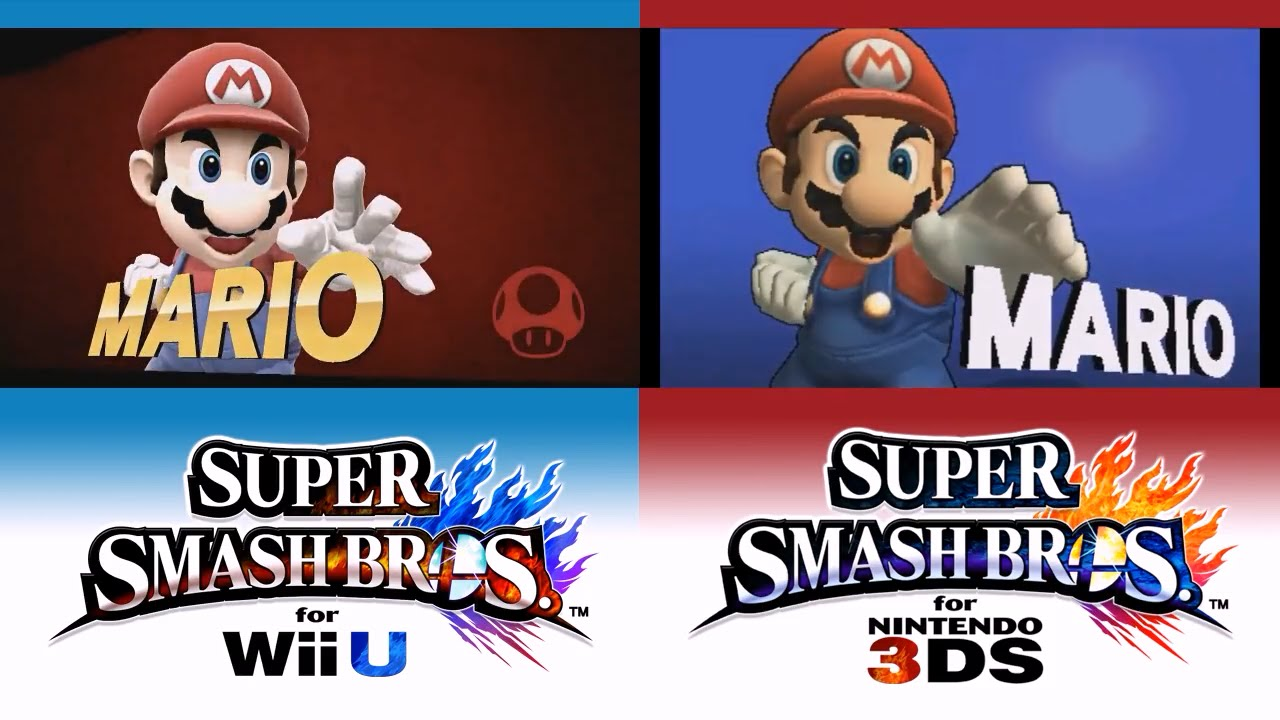 Mario Nintendo 3ds Super Bros Smash