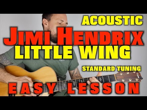 Little Wing Jimi Hendrix Guitar Lesson