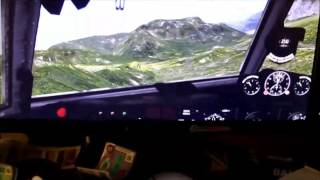 Ilyushin IL-14p Flight through Italy, beautiful footage. Xplane or FSX?