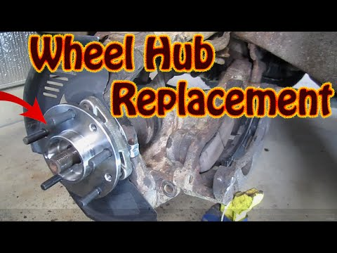 How To Replace Wheel Bearing Assembly 2001 Gmc Sierra