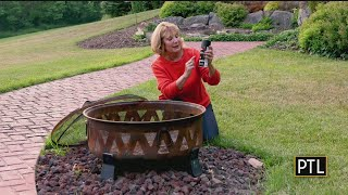 At Home With Pella Repairing Your Rusty Fire Pit Youtube