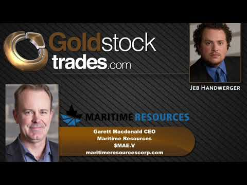 Maritime Resources $MAE.V Exploring For the Gold Source at Depth at Hammerdown