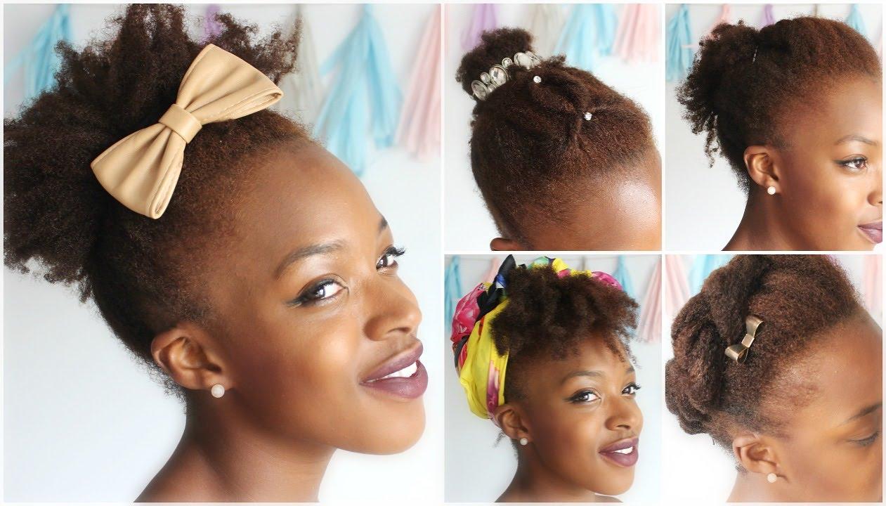5 Frisuren I Hairstyles Für Kurzes Bis Mittellanges Haar