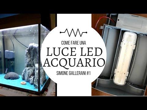 Plafoniere Led Fai Da Te : Come costruire plafoniera acquario fai da te economica euro neon t