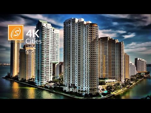 Brickell Tour, Miami, Florida, USA 4K UHD