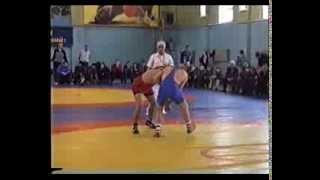 Вольная борьба 76кг Калининград ,ветераны 2003год Алиев Нурали 1место
