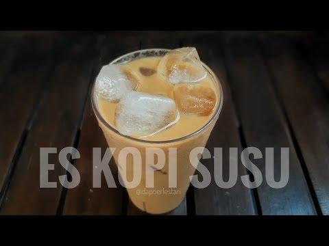 CARA MUDAH MEMBUAT ES KOPI SUSU KEKINIAN ALA CAFE