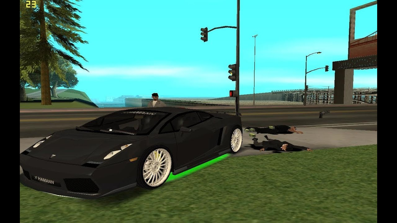 Gta San Andreas How To Get A Lamborghini Gta San Andreas Lamborghini Youtube