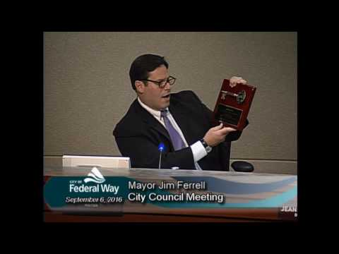 09/06/2016 - Federal Way City Council - Regular Meeting
