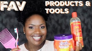 Favorite Natural Hair Products & Tools| June 2016