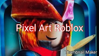 Playing pixel art roblox (new intro😯😯😯)