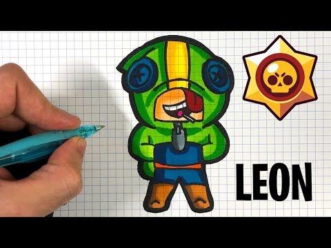 Tuto Comment Dessiner Leon Brawl Stars Youtube
