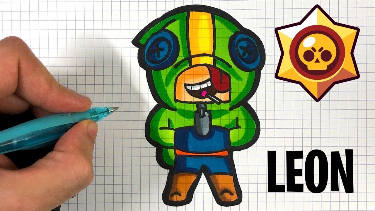 Tuto Comment Dessiner Leon Brawl Stars Youtube