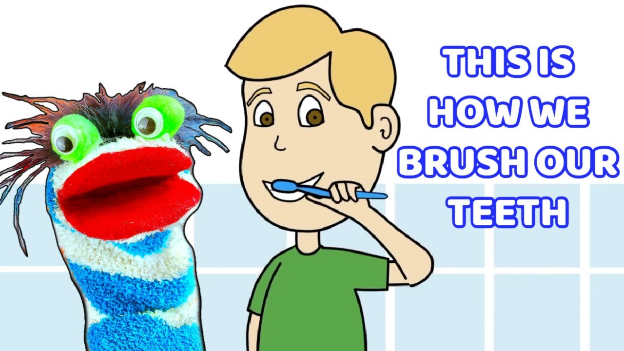 This is How We Brush Our Teeth Song for Kids