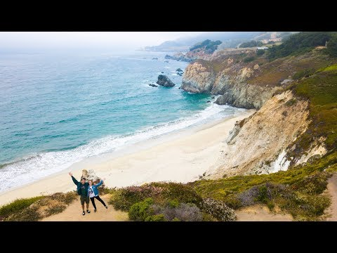 BEAUTIFUL CALIFORNIA DRONE FOOTAGE  (Highway 1)