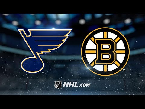 Rask leads Bruins to 3-1 victory against Blues