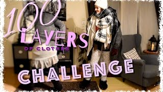* 100 LAYERS OF CLOTHES CHALLENGE * l 100 Kleider Challenge l BlankSisters