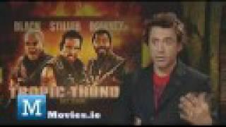 Robert Downey Jr. Interview - Star of Tropic Thunder, Iron Man 3 & Sherlock Holmes Game Of Shadows