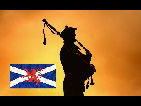 Scottish Music Bagpipes ~Lone Piper~Lord Lovat's Lament..