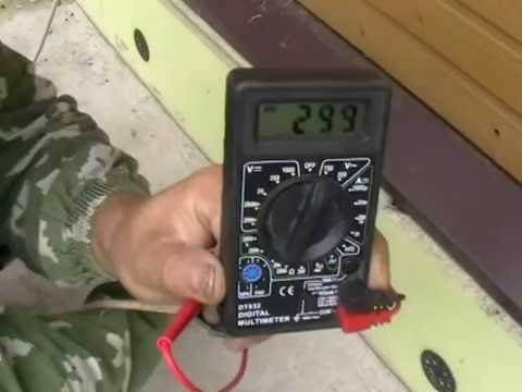 Как проверить заземление с помощью мультиметра