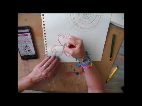 How to draw Triskel Heart