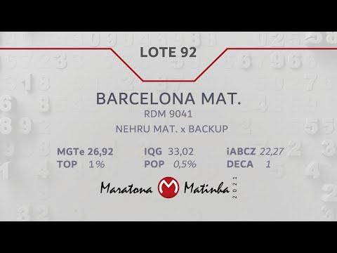 LOTE 92 Maratona Matinha