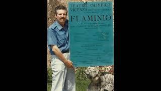 Ugo Benelli rehearsing his arias from Pergolesi's Il Flaminio & Tre giorni son che Nina, 1960