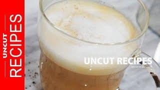 ☑️ How To Make a Latte ( Caffe Latte ) Recipe | Uncut Recipes