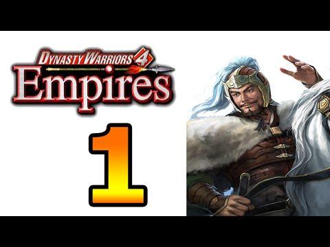 Dynasty Warriors 4 Empires Gongsun Zan Walkthrough Part 1 - No Commentary Playthrough (PS2)