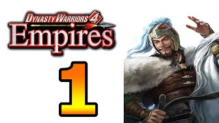 Dynasty Warriors 4 Empires Gongsun Zan Walkthrough Part 1 - No Commentary Playthrough (PS2)