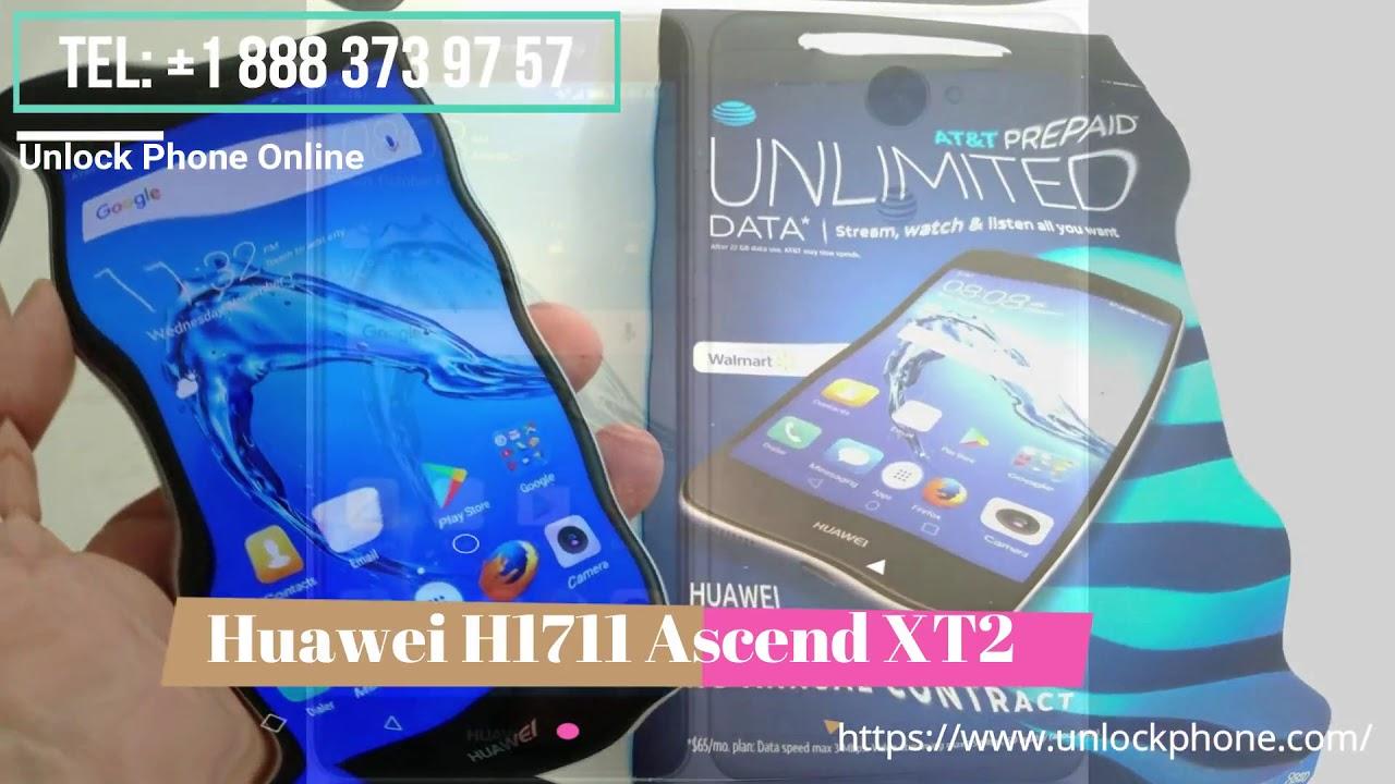 Cómo desbloquear Huawei H1711 Ascend XT2