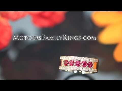 Mothers Rings - How They are Custom Designed