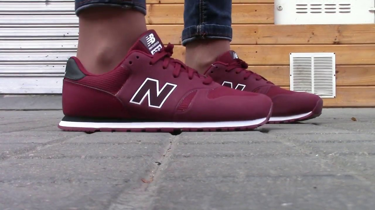 new balance zapatillas granate y gris