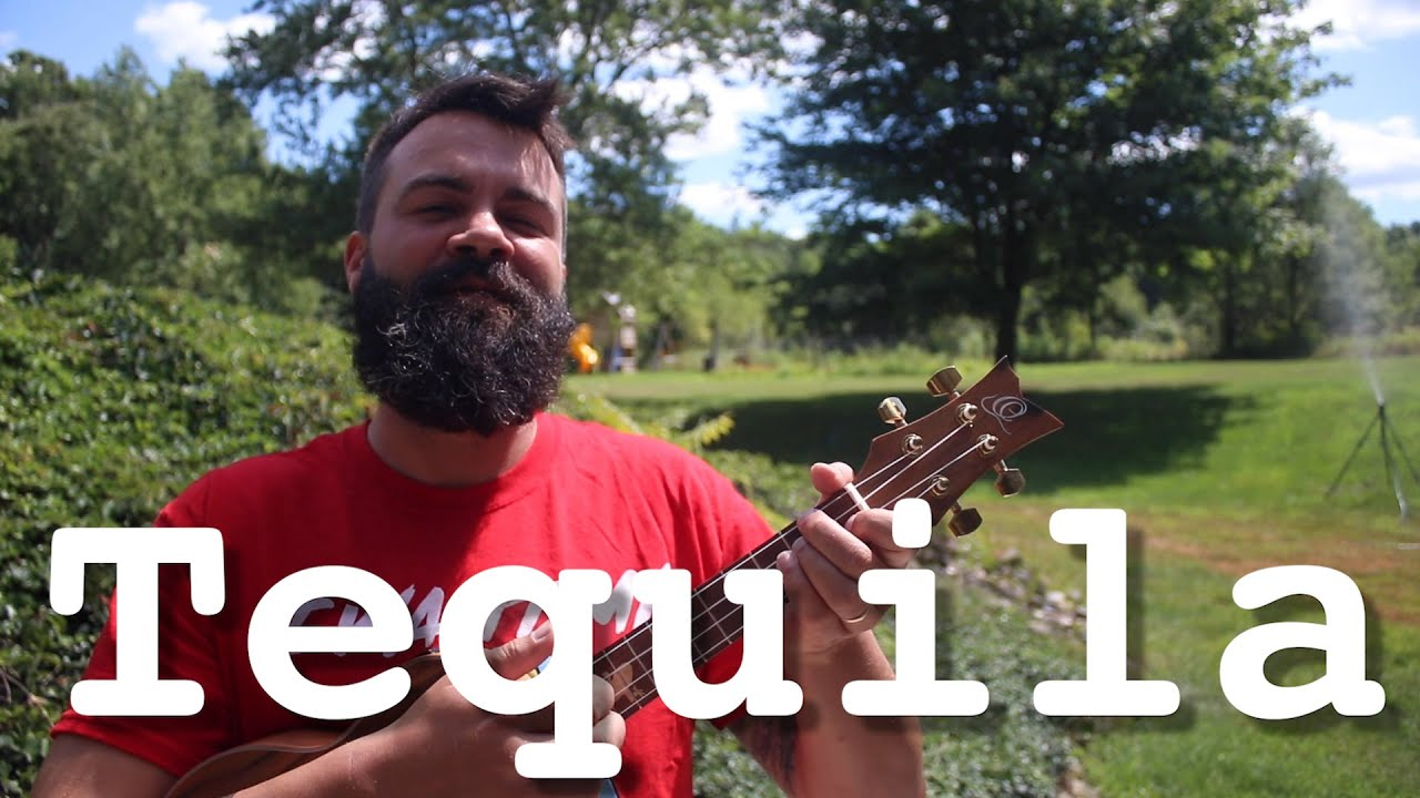 Tequila - The Champs - Ukulele Tutorial With Tabs