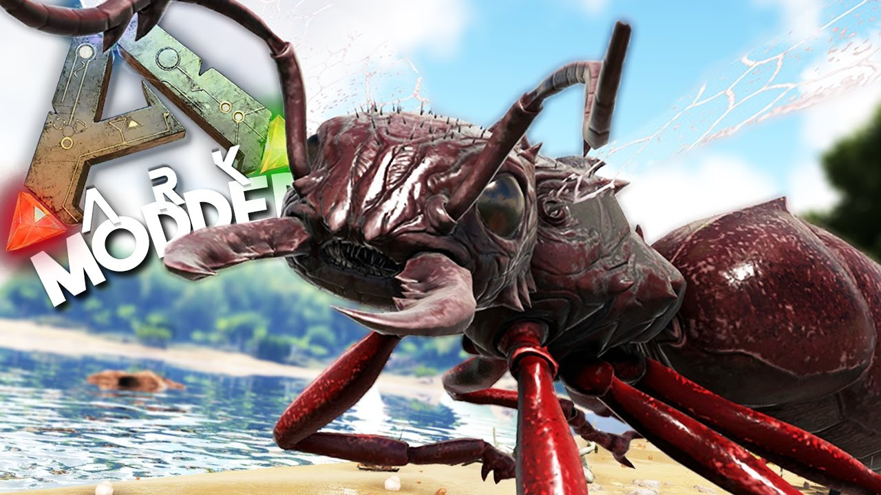 ARK Survival Evolved Ep #5 - THE DEADLIEST BUG IN THE WORLD - (Modded Survival)