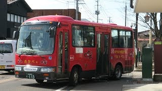 JR東日本 七日町駅にて 会津バス & 会津鉄道 2018 3